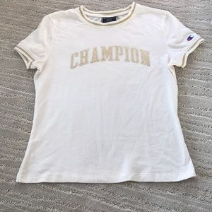 Champion Tops - CHAMPION GOLD SHIRT